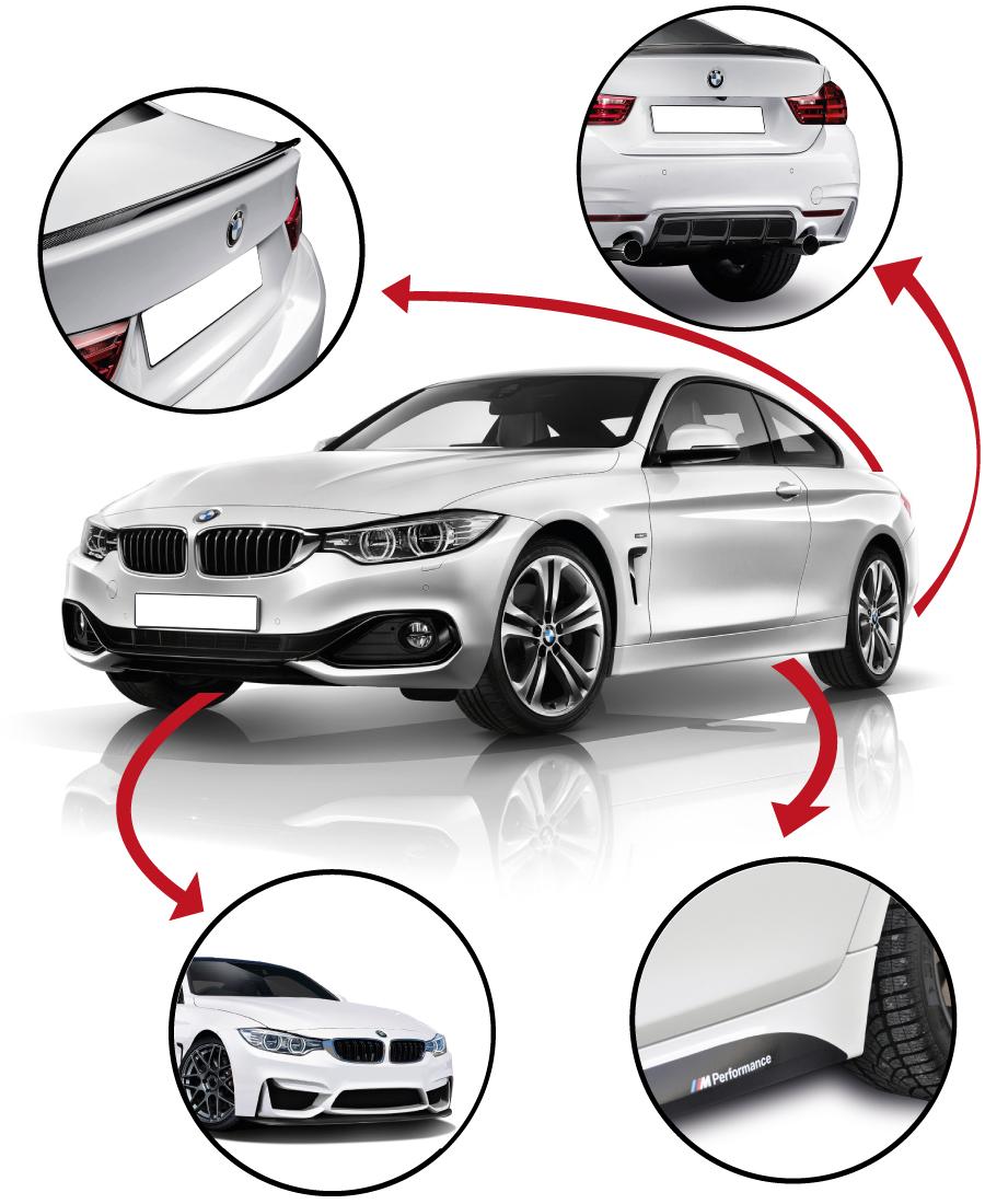 BMW F30 M Paket Tampon Seti