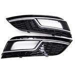 Audi A4 2012- Sonrası Makyajlı S4 Sis Farı Çerçevesi