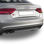Audi A5 Makyajlı S5 Arka Tampon Difüzörü 2013- Sonrası
