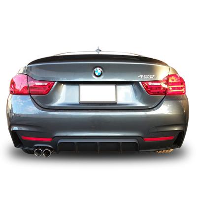BMW 4 Serisi F32 F33 F36 428i Arka Tampon Difüzör
