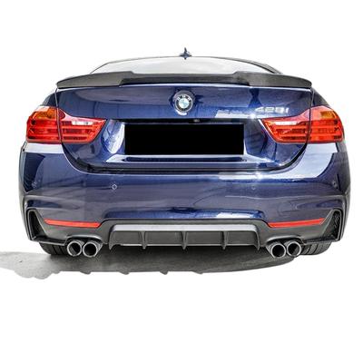 BMW 4 Serisi F32 F33 F36 435i M Performance Arka Difüzör Sağ Sol Çift Çıkış